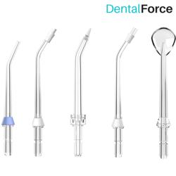 KOŃCÓWKI DO IRYGAOTRA SPECJALISTYCZNE DentalForce - 5 sztuk